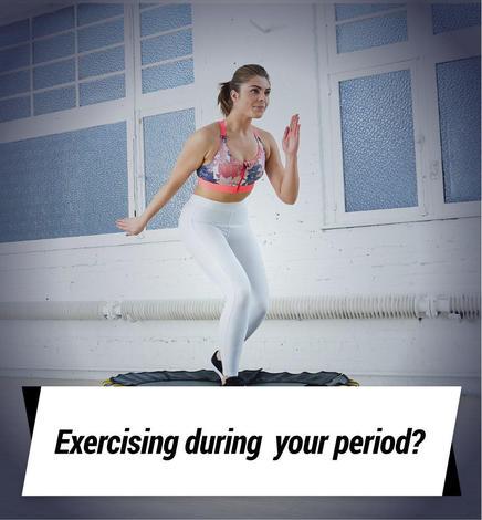 Exercising during period