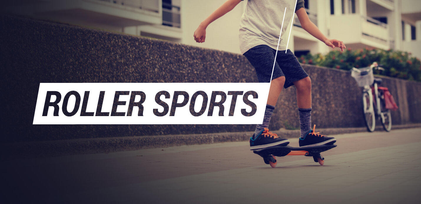 Decathlon Indoor Sport Category Roller Sports Collage