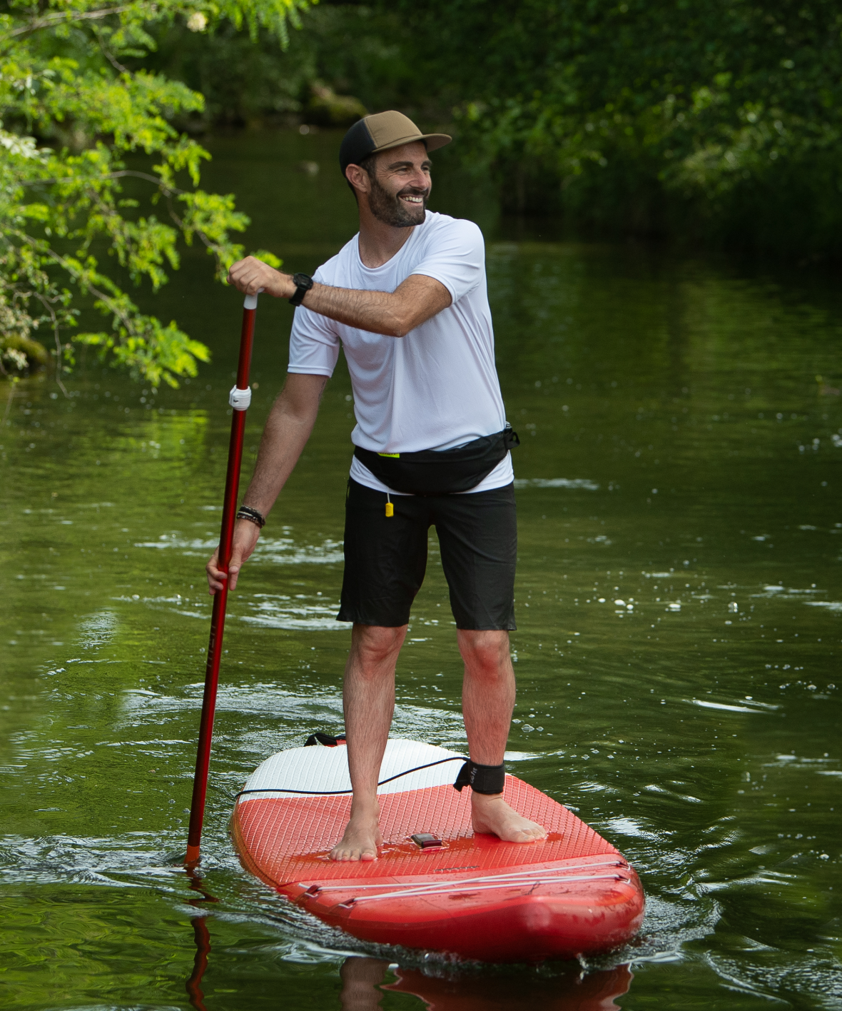scegliere-un-leash-da-stand-up-paddle-principiante