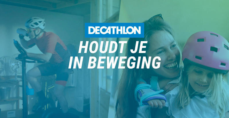 Decathlon beweging banner
