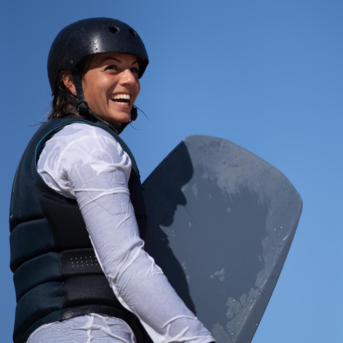 wakeboard fille Davina Deruben