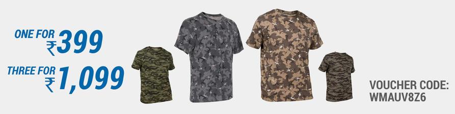 Decathlon Hunting Camo T-shirt