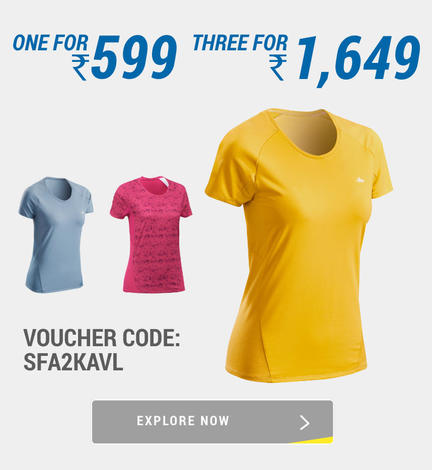 Decathlon Hiking Women T-shirt