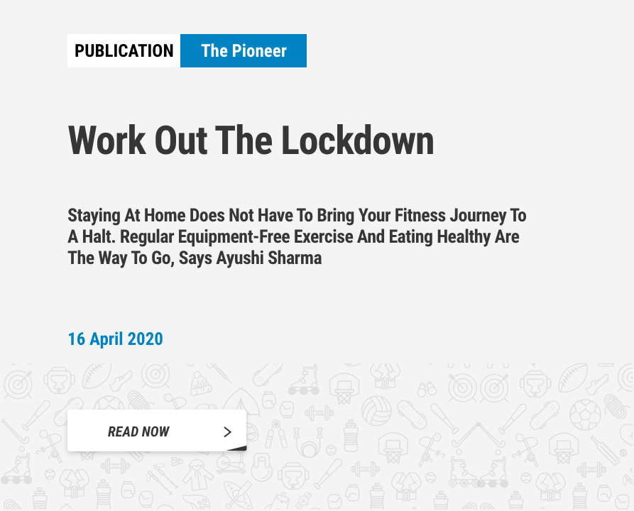 16 April 2020 - The Pioneeer