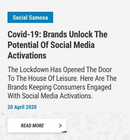20 April 2020 - Social Samosa