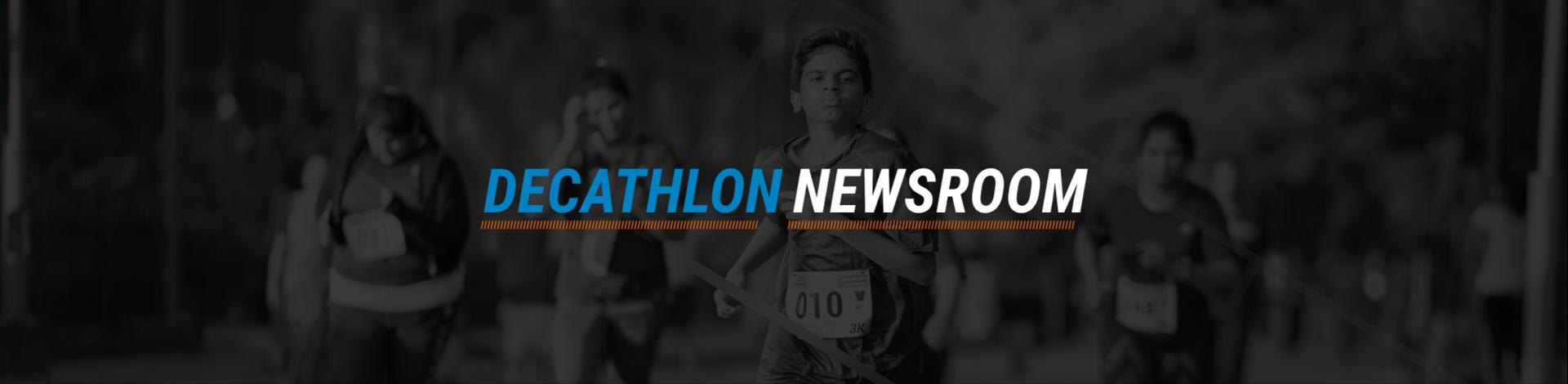 Decathlon Newsroom Main Banner
