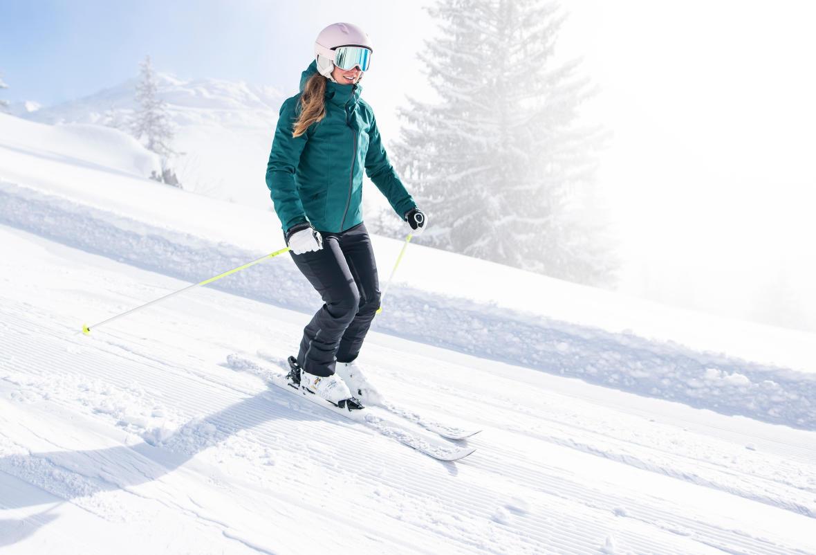 comment progresser en ski : le virage, conseils et astuces wed'ze