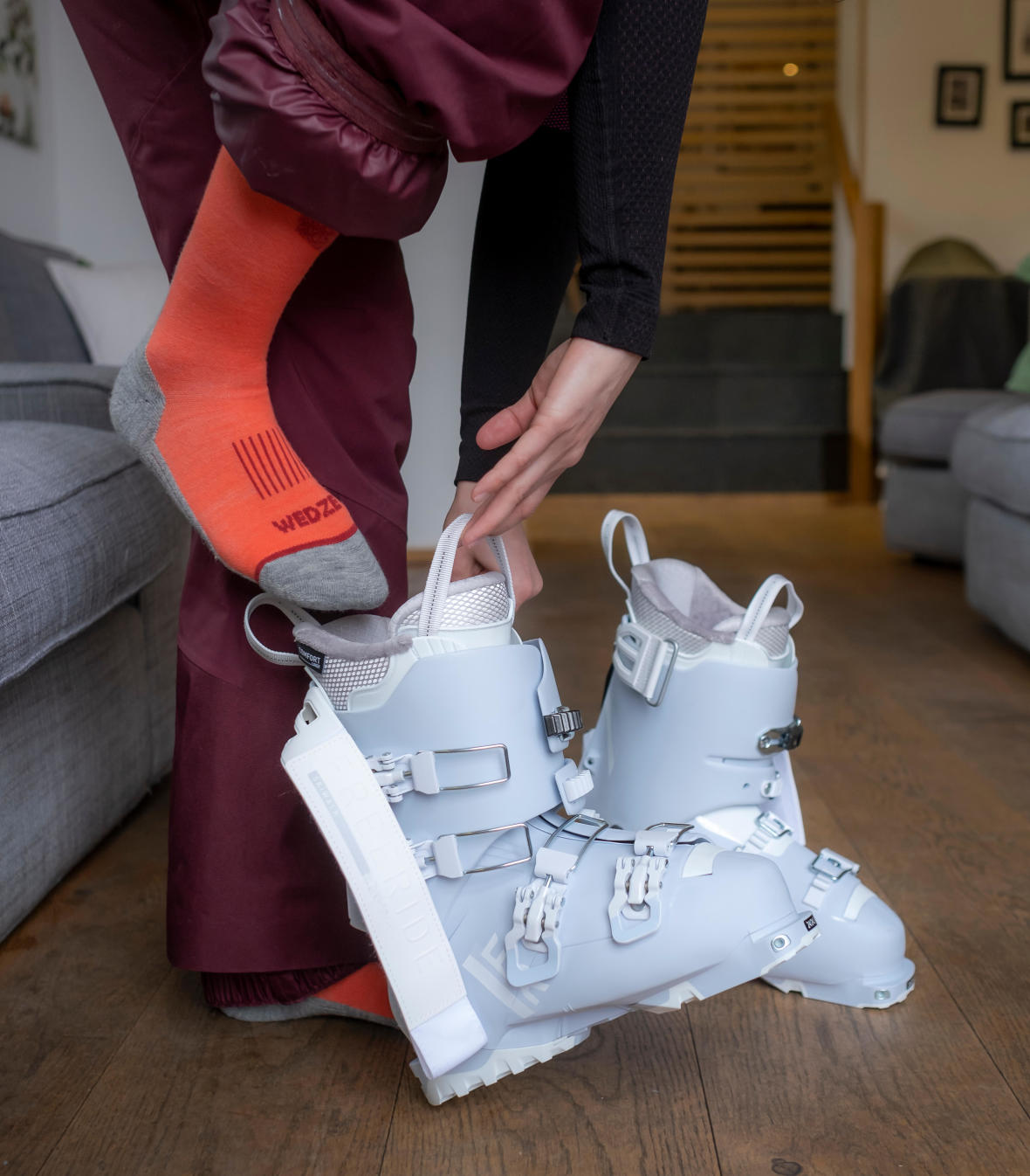 no more cold feet when wearing ski boots - media 1