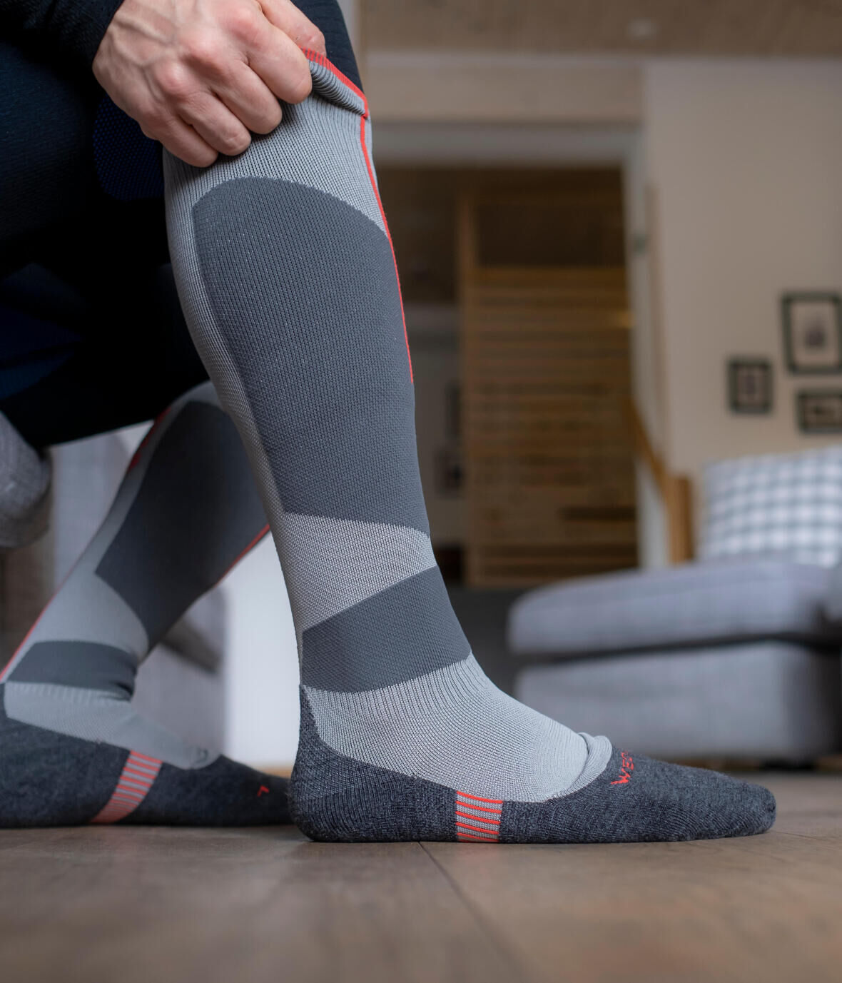 chaussettes de ski importance