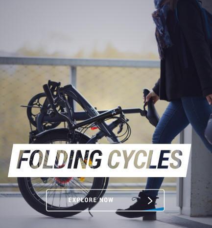 decathlon folding bikes