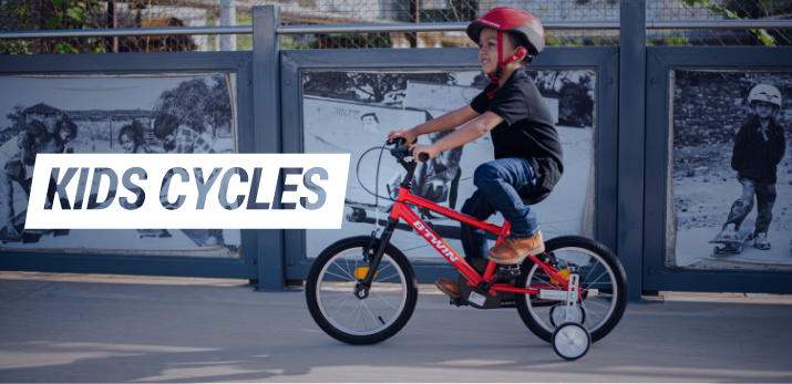 Kids bike open banner
