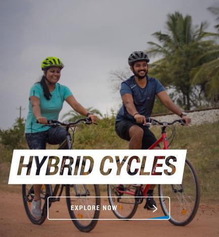 decathlon hybrid cycles