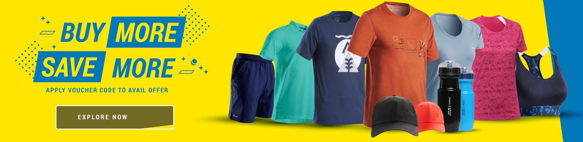 Decathlon multi-buy offers, Decathlon multibuy products