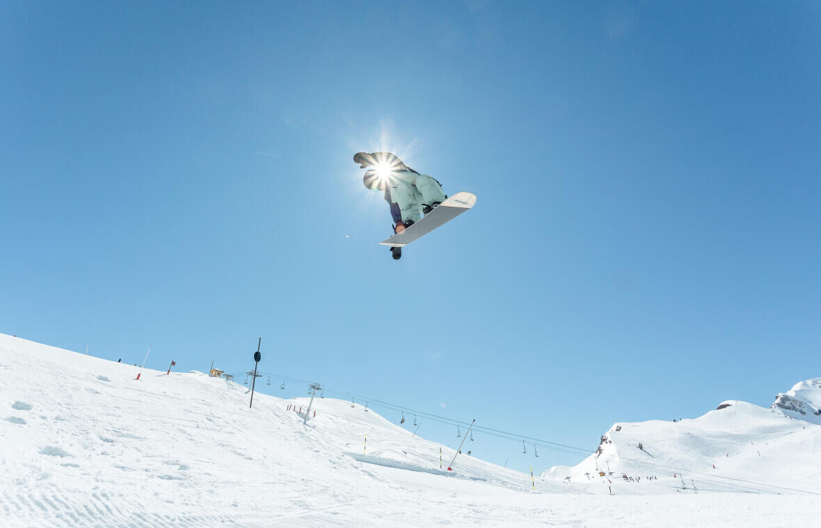 beginner freestyle snowboard