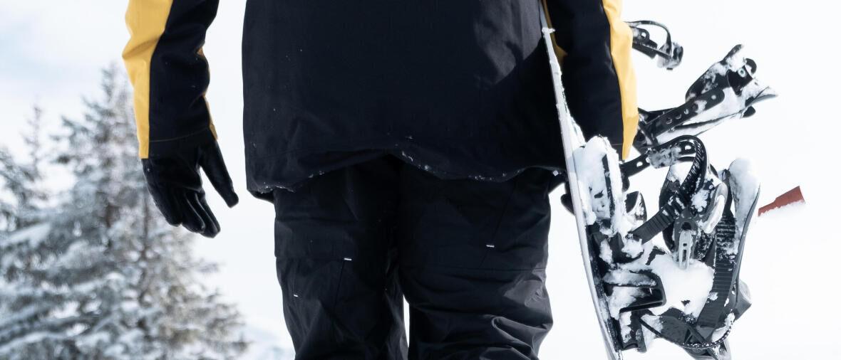 porter son snowboard