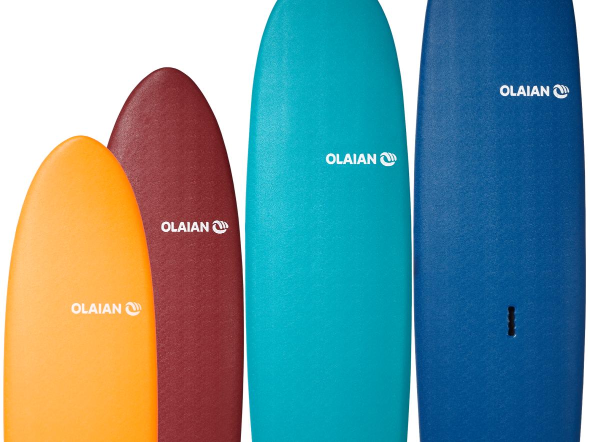 衝浪 如何選擇合適的衝浪板
