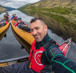 paul villecourt kayak france