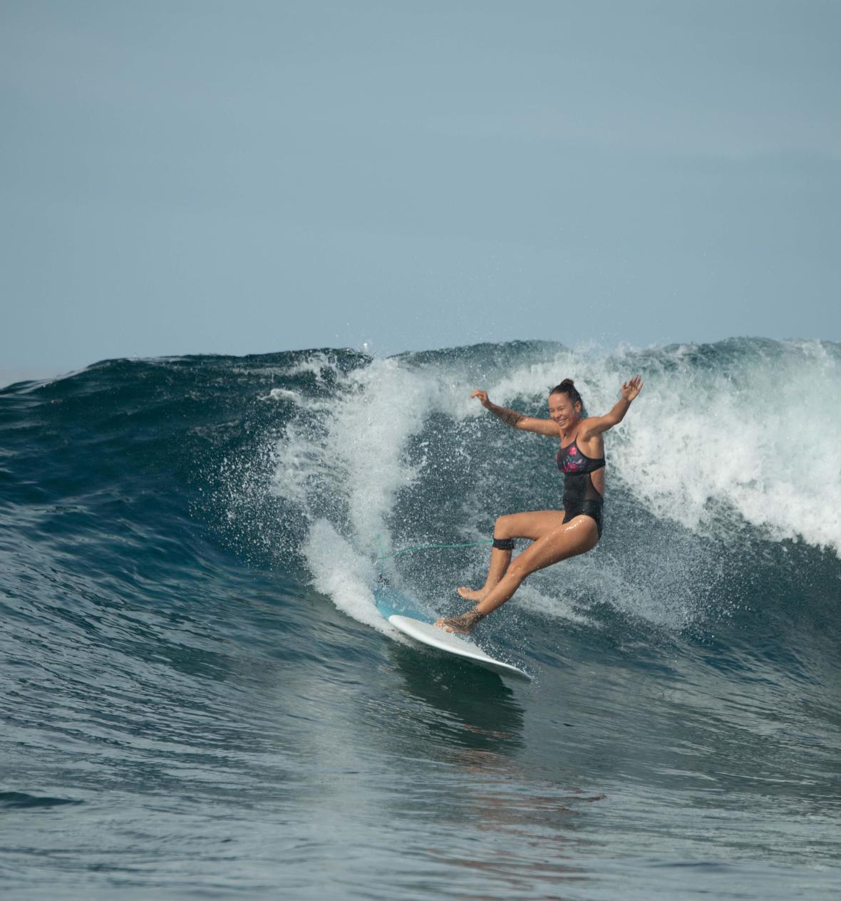 Comment (bien) chuter en surf ?