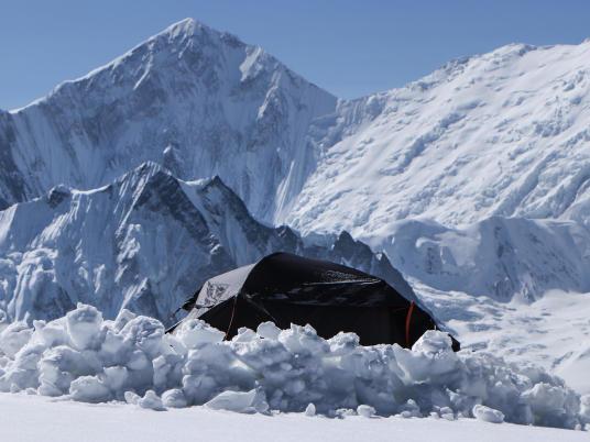 photo bivouac dans les annapurnas