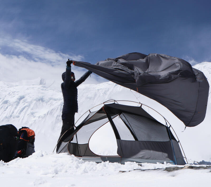 itineraire trek bivouac dans les annapurnas