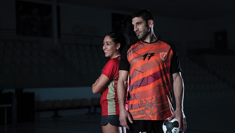 Textile handball
