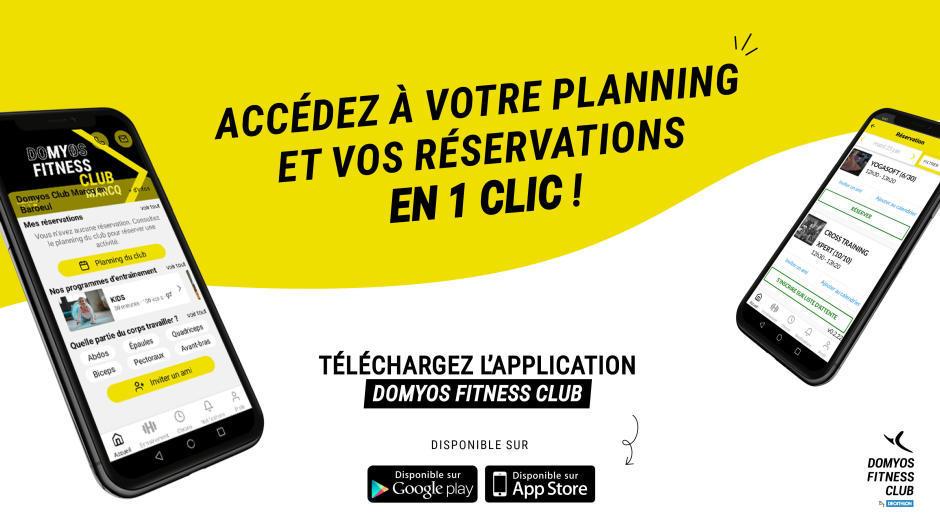 appli mobile domyos club