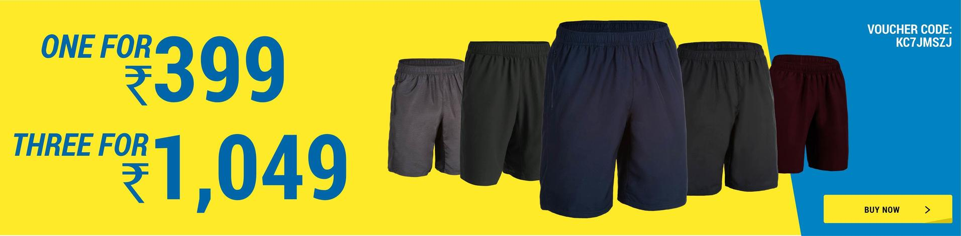 Gym Shorts offers