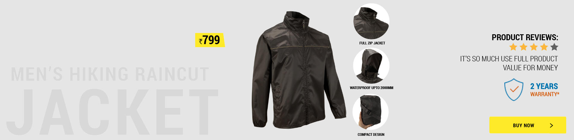 Hiking Waterproof Jacket, rain jacket, low cost rain jacket