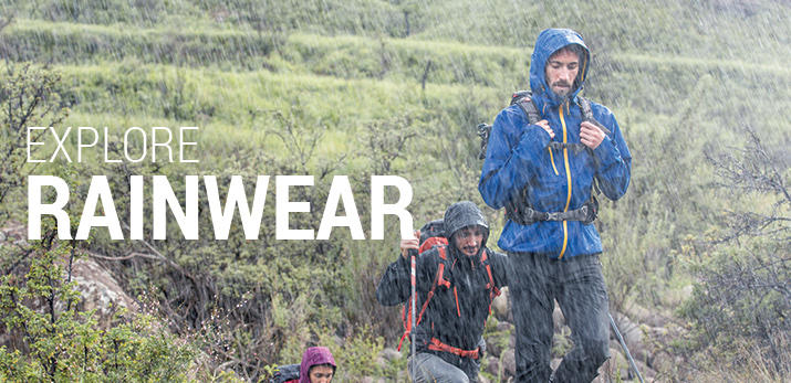 RAINWEAR PRODUCT COLLAGE HEADER
