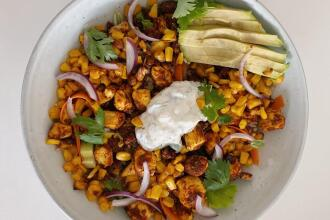 Recette : Buddha bowl mexicain