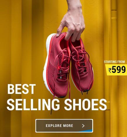 Decathlon Best Selling Show, Decathlon Shoes