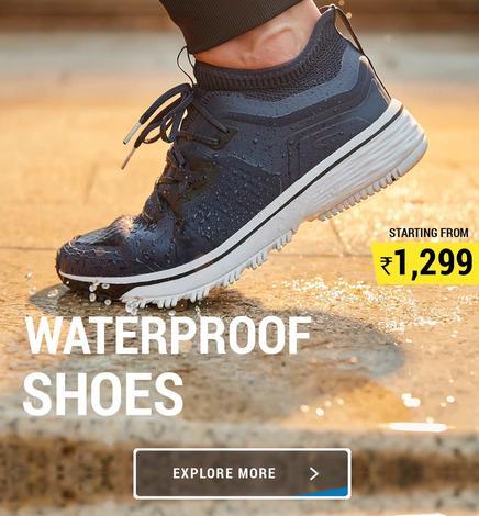 Decathlon Waterproof Shoes , hiking Waterproof shoes
