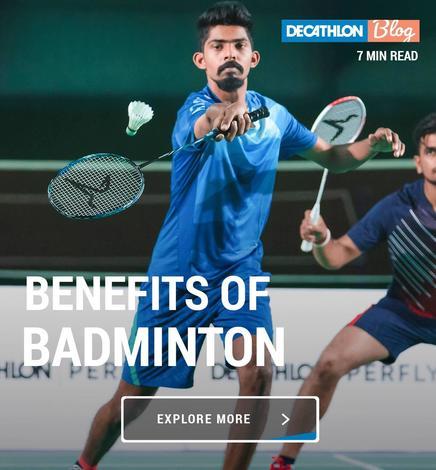 Top 15 health benefits of playing Badminton