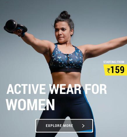 Active Women Wear, Decathlon fitness wear