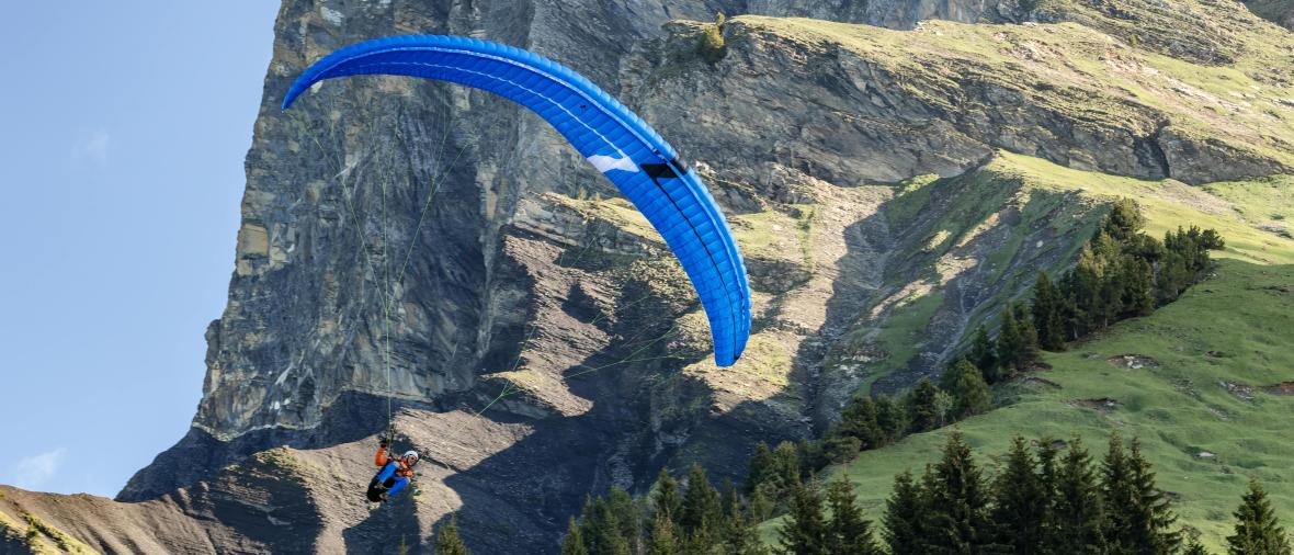 Five tips for getting started with paragliding