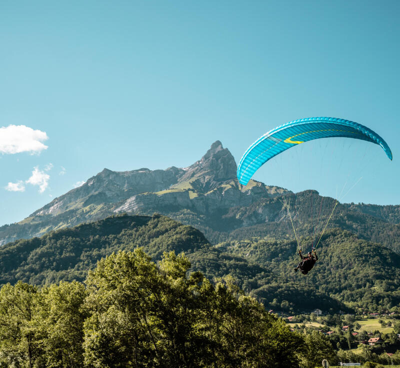 Five tips to get started with paragliding