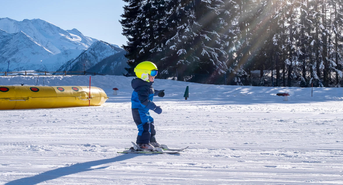 faire découvrir le ski aux enfants
