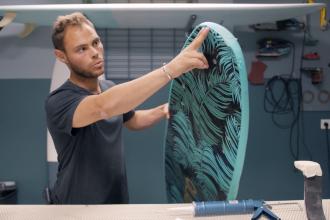 comment réparer sa planche de surf en résine