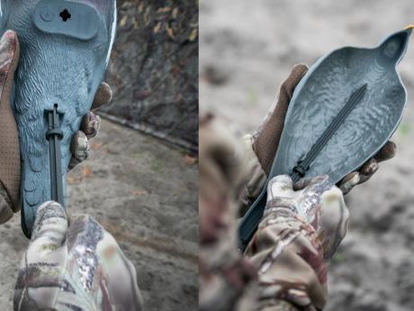 Premier appelant artificiel de pigeon ramier Solognac
