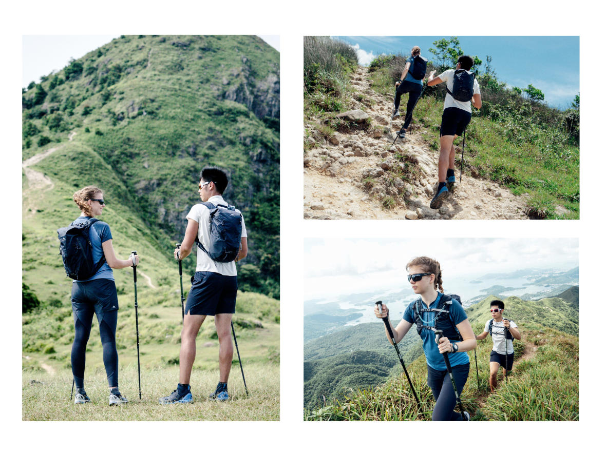 Fast hiking - A new way of hiking in a dynamic and intense pace