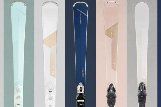 A new range of women's skis rich in experience!