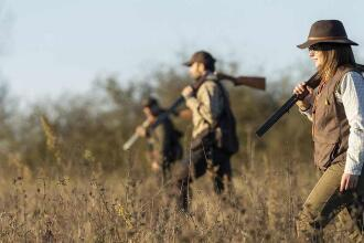woman hunting