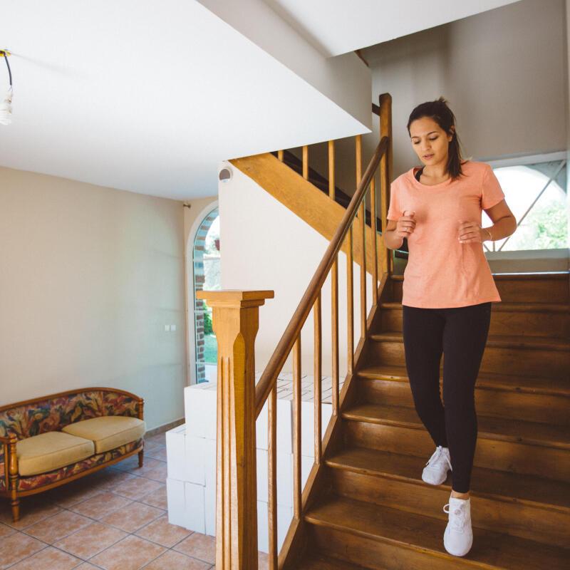 Faire du sport avec ses escaliers