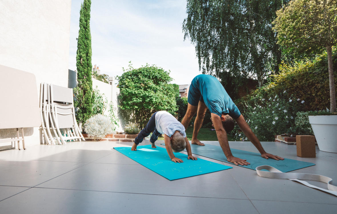 chien yoga