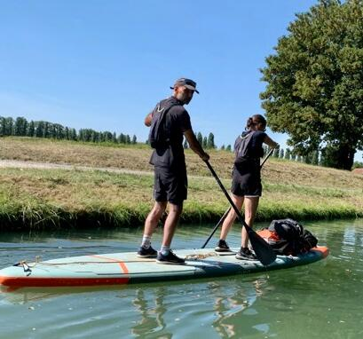 stand up paddle tandem trip itiwit france