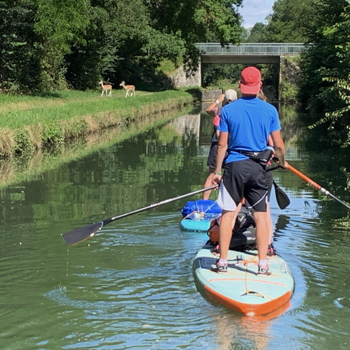 stand up paddle tandem trip france