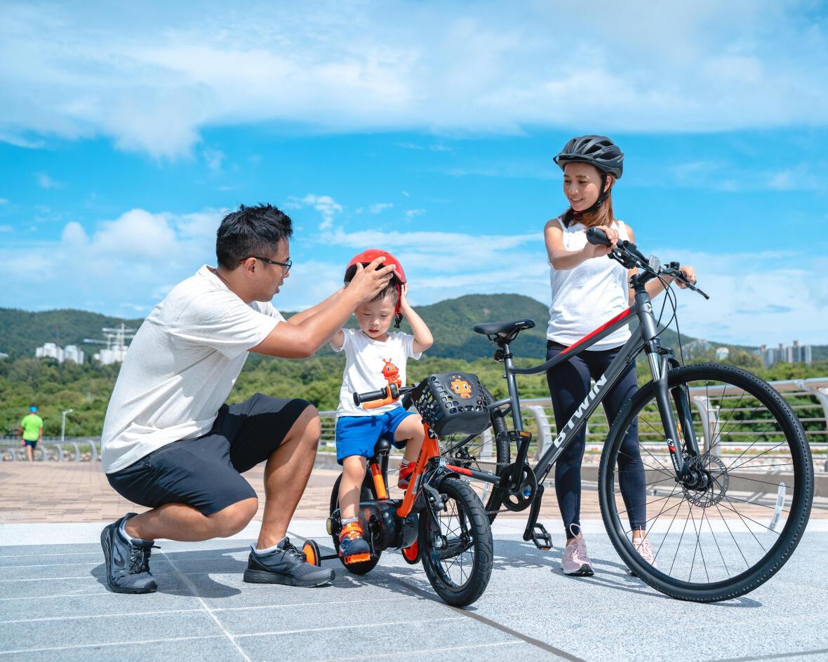 為你的家庭成員選擇適合大小的單車