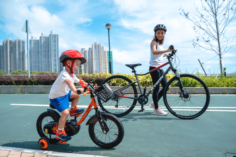 Family biking for beginner