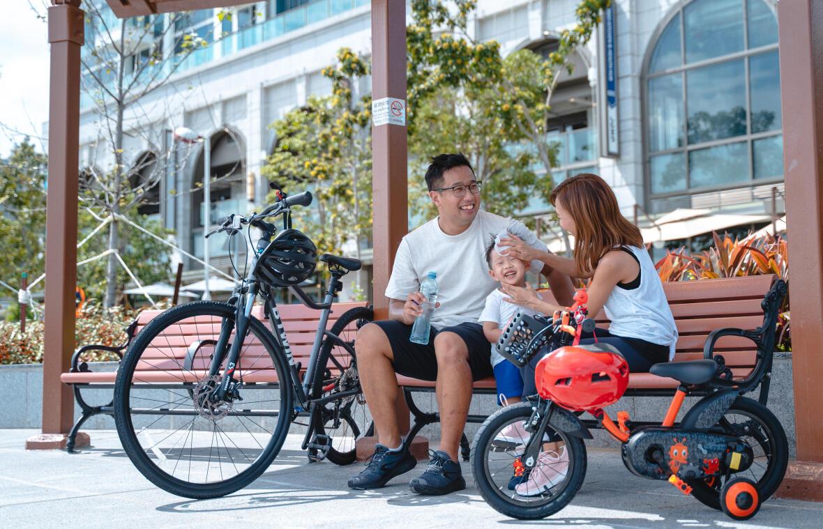 和你的家人有個愉快單車之旅!
