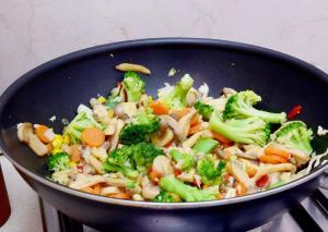 snelle vegan wok